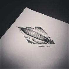 Znalezione obrazy dla zapytania led zeppelin dotwork