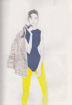 Illustrations 2011: Fabulous fabrics - Daphne van den Heuvel