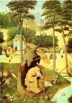 The Temptation of St Anthony (detail) - Hieronymus Bosch
