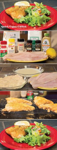 Quick Cajun Catfish Recipe