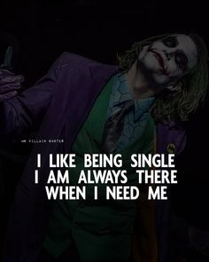 Joker Love Quotes, Psycho Quotes, Badass Quotes, Positive Attitude Quotes, Cute Attitude Quotes, Good Thoughts Quotes, Positive Life, Swag Quotes, Karma Quotes
