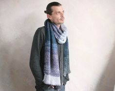 Wrapture by Inese- Mohair scarf
