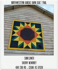 Image result for sunflower barn quilt pattern