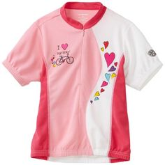 Girls' Cycling Jerseys - Kanu Bike Girls Kool Kitten Cycling Jersey *** Find out more about the great product at the image link.