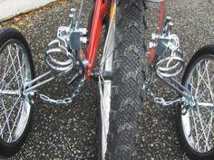 Les roues stabilisatrices EZT Senior Adult Tricycle, Trainers, Wheels, Bicycle, Ideas, Veils, Ferris Wheels, Tennis, Bike