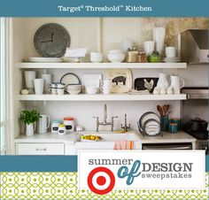 Pin a Target Threshold™ home product for a chance to win a $500 Target Gift Card(R)! No purchase necessary. Ends 8/5/13. To enter and complete details visit www.HGTV.com/summerofdesign