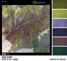 Ugab River Palette - inspired by the Earth As Art photos from the USGS, created by Brandi Hussey (www.brandigirlblog.com) for the 3rd Annual Challenge of Color (http://treasures-found.blogspot.com/2012/11/color-full-world-welcome-to-3rd-annual.html)