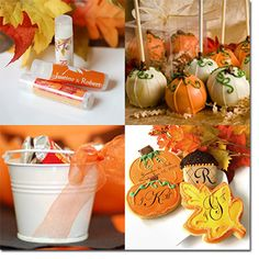 Fall Baby Shower Ideas- I like the cookies