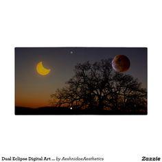 Dual Eclipse Digital Art Binder
