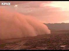 Phoenix Arizona Dust Storm 2007