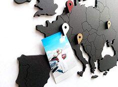 New World Map Wall Art - Wooden World Map Decor/Wall Decoration/Wooden Decor Living Room Office Travellers / Decor/Murals Wall Art/DIY Wall Art (Black, x inch cm)) online - Findoffertoday 3d Wall Decor, Mural Wall Art, Diy Wall Art, Wall Decorations, World Map Decor, World Map Wall Art, Design Shop, 3d Wanddekor, Posters Diy
