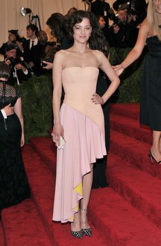 Marion Cotillard in Christian Dior at 2013 Met Gala