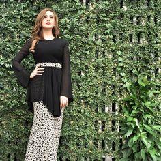 What raya looks like for @fatiyalatiff. Seen here in our Daisy from @fashionvaletcom #fvootd