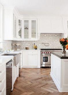 cement tile kitchen pendant lighting for 75 best backsplash images kitchens 18 reasons to fall in love with patterned flooringkitchen backsplashcement