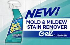*Expired*Enter to win a Soft Scrub free product coupon! Expires  05/19  http://easy2save.blogspot.com/2013/05/new-soft-scrub-mold-and-mildew-stain.html