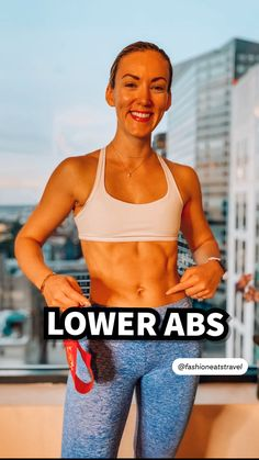 Fitness Workouts, Gym Workout Tips, Fitness Workout For Women, Workout Videos, Lower Abs, Lower Belly, Slim Waist Workout, Nike Air Force 1, Gym Workout For Beginners