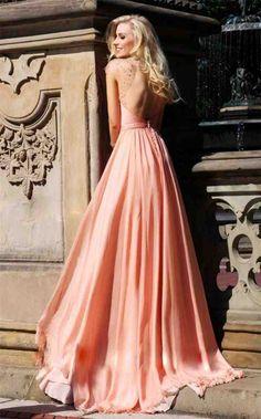 Coral Peach Bridesmaid Dresses