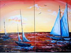 Sailor's Afternoon Delight (Couples or Solo) Open - Waco, TX Painting Class - Painting with a Twist