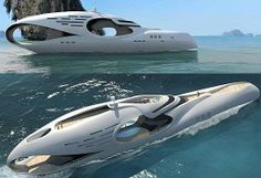 Holey Luxury Boats - 'Infintas' Schopfer Yacht is Inspired by the Infinity Symbol (GALLERY)