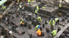 Entire streets of Roman London uncovered in the City http://www.bbc.co.uk/news/uk-england-london-22084384