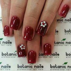 . Acrylic Nails, Gel Nails, Tie Dye Nails, Botanic Nails, Red Nail Art, Professional Nails, Nail Technician, Nail Care, Flower Designs
