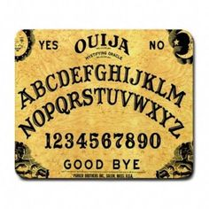 Ouija Board Soft Comfort Mouse Pad for Optical Computer Mouse