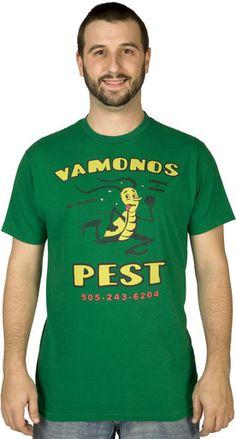 ↳Pinterest @8amartina↲ Vamanos Pest Breaking Bad Shirt.... Need!!