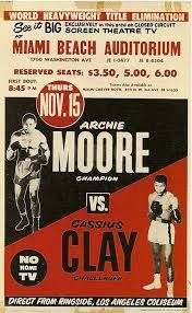 Image result for vintage fight posters Wrestling Posters, Boxing Posters, Sports Posters, Boxing Fight, Boxing Gym, Archie Moore, Muhammad Ali Boxing, Boxing History, Float Like A Butterfly