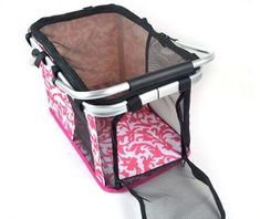 Stitching Print Folding Portable Mesh Breathable Pet Carrier Ventilated Pet Supplier Handbag Kennels Crates Houses Cat Dog Puppy Small Pets Tote Basket for Outdoor Travel ** More info could be found at the image url. (This is an affiliate link and I receive a commission for the sales) #Doggies
