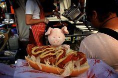 Big Apple Hot Dogs, Street Food, #London