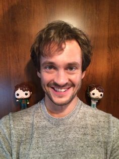 Hannibal — Are you Mads about the Hannibal Funko dolls? Hugh better believe it. Source: nbchannibal.tumblr