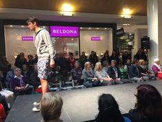 CALIDA Mode für den Mann an der grossen Modeschau im Emmen Center. Model: Rafael Beutl.