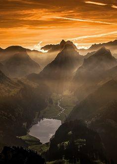 """coiour-my-world: """"Sämtisersee, Switzerland ~ by Marcel Schiegg """""""