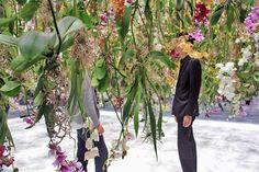 teamlab suspends floating flower garden at maison et objet
