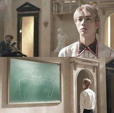 Jin's portrait lol the accuracy