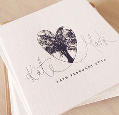 Peace love letterpress invitations