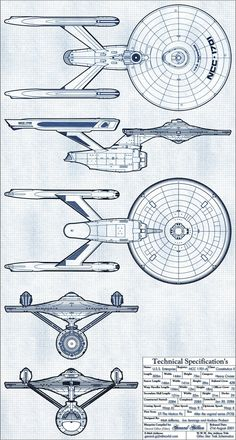 USS Enterprise - NCC-1701-A