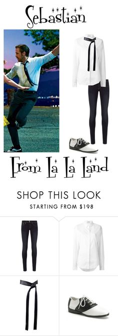 """""""Sebastian From La La Land"""" by madelinem-2002 on Polyvore featuring rag & bone, Anthony Vaccarello, Michael Kors and vintage"""