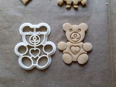 Teddy Bear Cookie Cutter by Protonik - Thingiverse