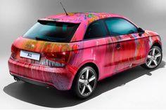 Audi A1 come opera d'arte.