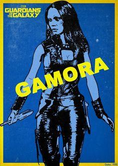 Guardians of the Galaxy - Gamora by Gautam Singh Rawat *