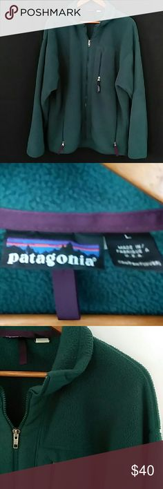 90s Patagonia full zip fleece jacket 90s Patagonia full zip fleece jacket size large Patagonia Jackets & Coats