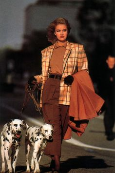 Mondi, Harper& Bazaar, August Photograph by Volker Zahm Werbung. 80s And 90s Fashion, Look Fashion, Retro Fashion, Vintage Fashion, Fashion Outfits, Fashion Design, Fashion Trends, Retro Outfits, Vintage Outfits