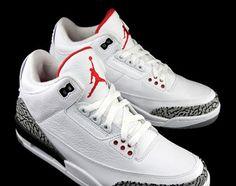 Air Jordan III 'White/Cement' Archives   Air Jordans, Release .
