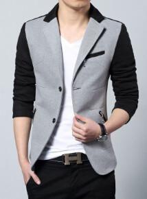 New Men's 2-Color Blazer