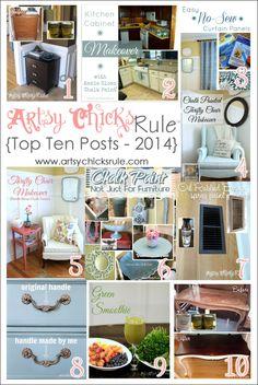 Artsy Chicks Rule (Top Ten Posts of 2014)
