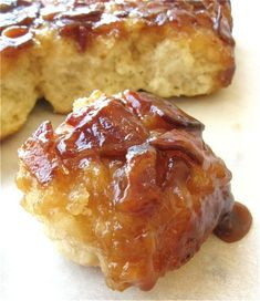 bacon + biscuits + maple syrup = best breakfast