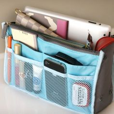 All In One Purse Organizers $6.49 - http://www.pinchingyourpennies.com/all-in-one-purse-organizers-6-49/ #Purseorganizing