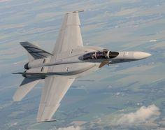 Super Hornet BlockIII prototype @ Boeing