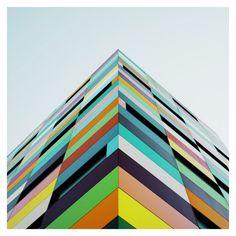 part of the 'Reflexiones' architectural photograph series by Matthias Heiderich